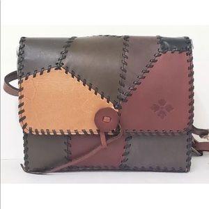 194f542d3b1 Patricia Nash NWT patched handmade handbag ...